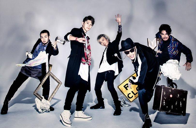 FLOW band Japanese rock pop anime songs JPU Records