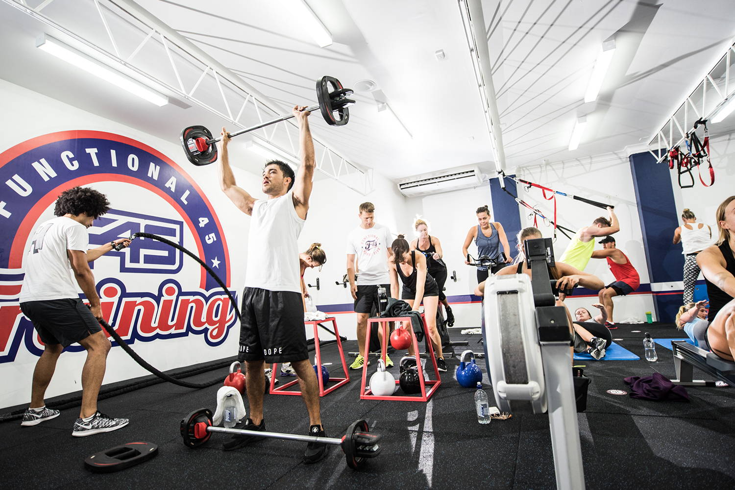 F45 GYMS