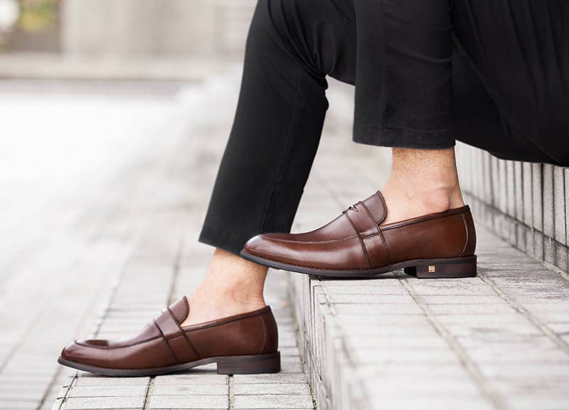 81560854b3d Tomaz F093 Penny Loafers (Coffee) - Tomaz Shoes