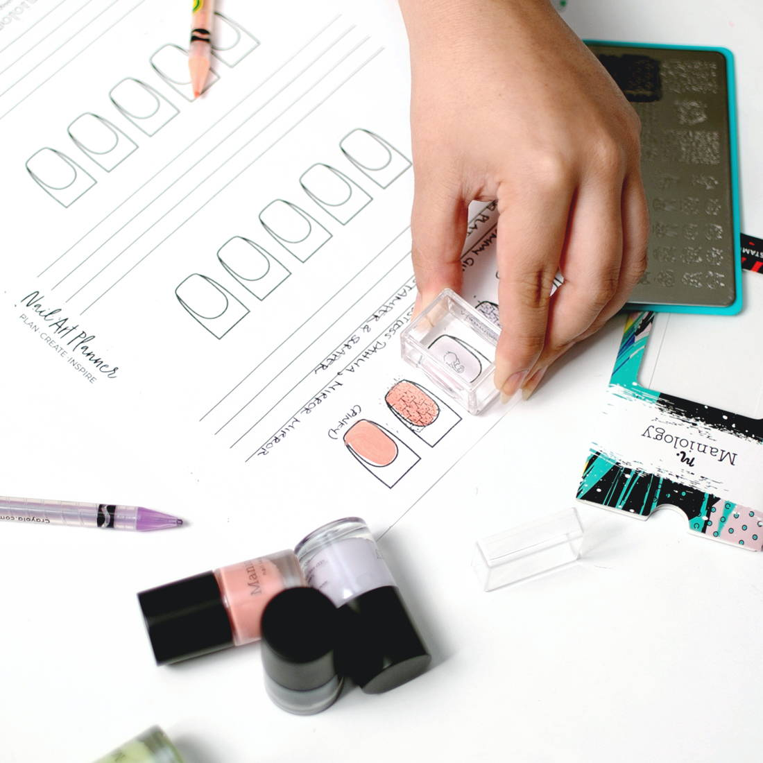 It's just a photo of Printable Nail Designs throughout affordable