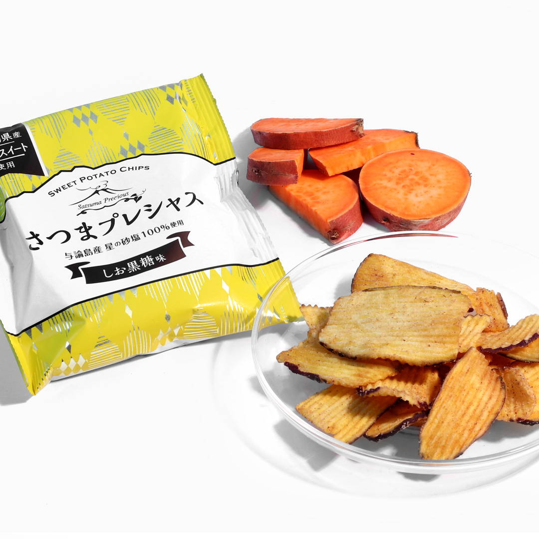 Satsuma Precious Chips: Salt + Brown Sugar Flavor
