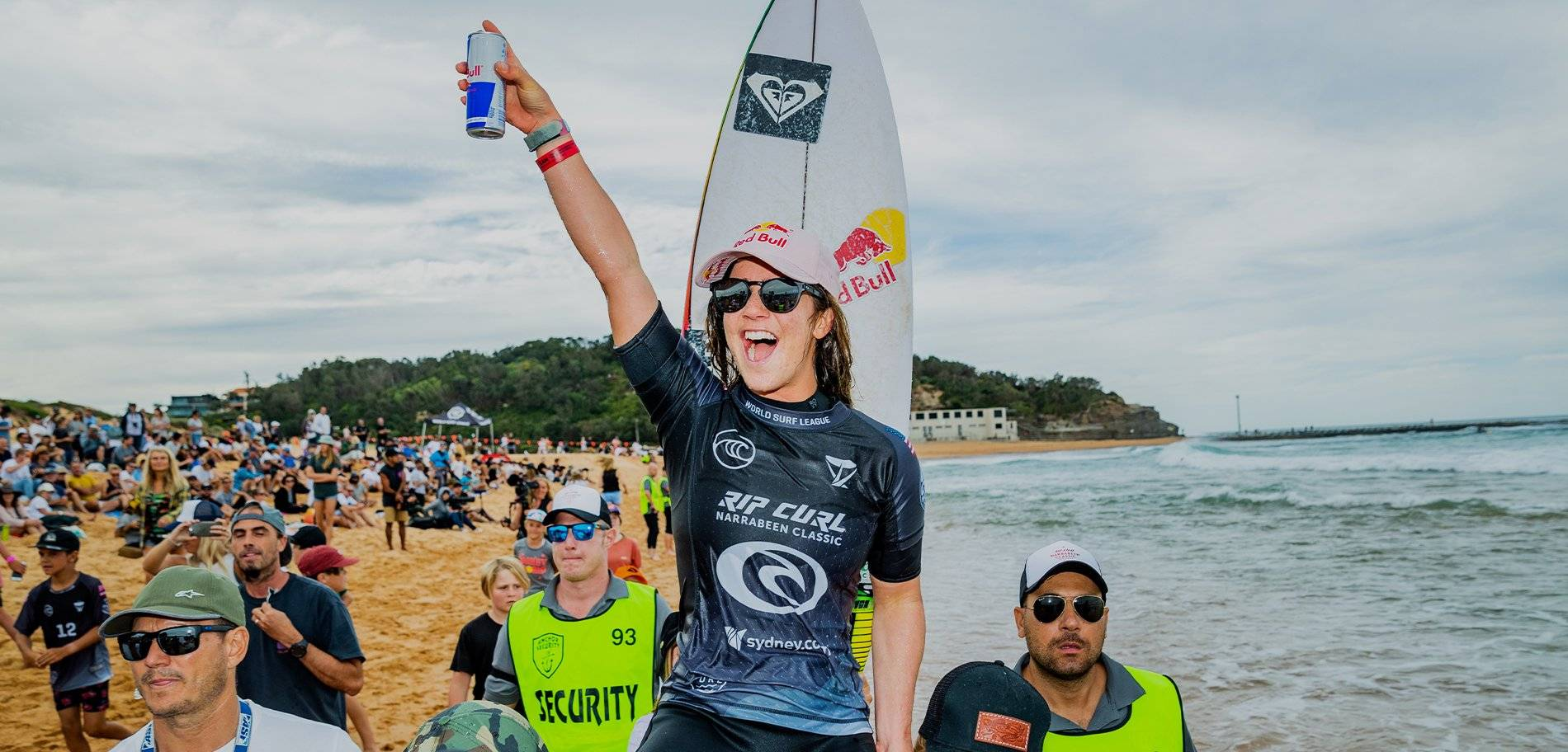 Caroline Takes Out Narrabeen Classic