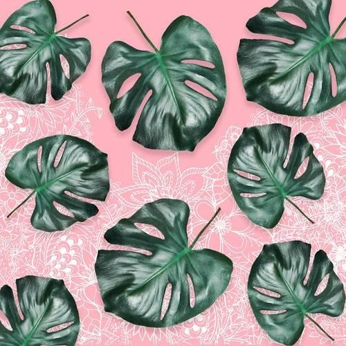 floral botanical art print