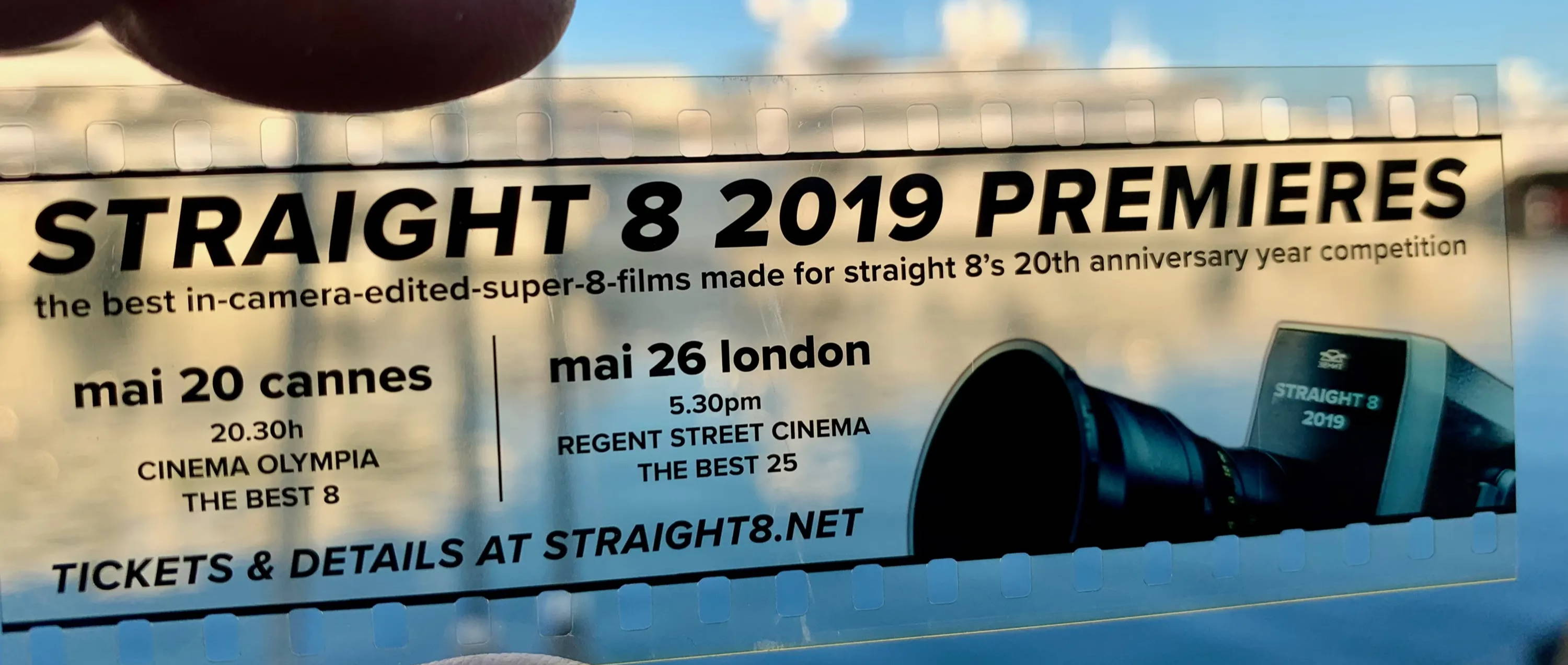 Straight 9 Premieres - ticket