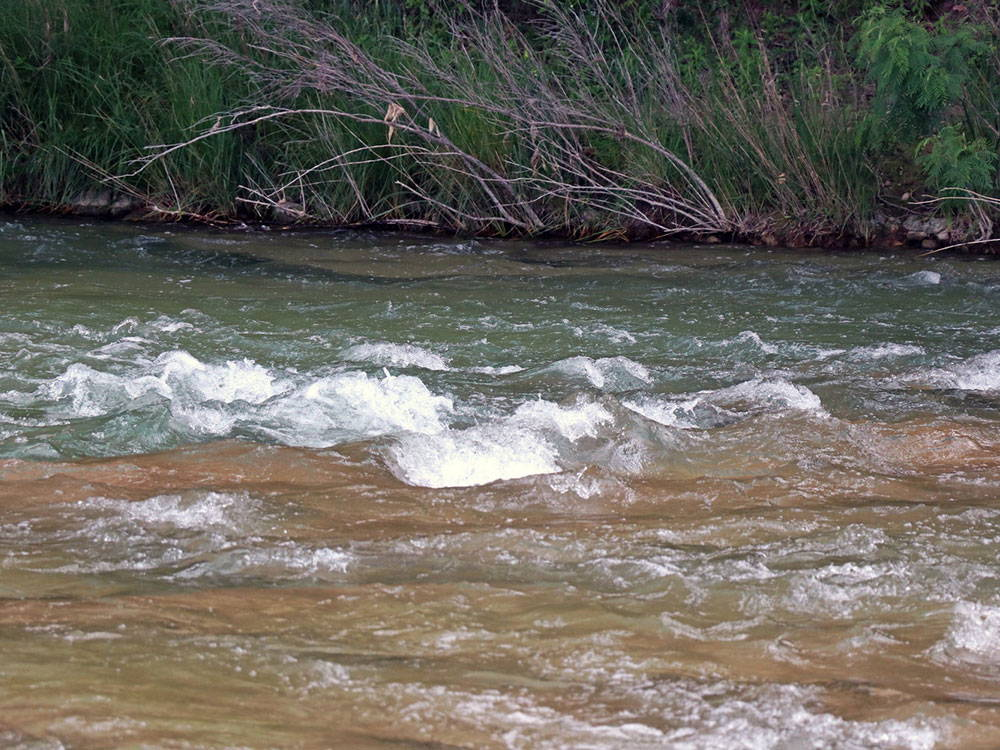 rapids on the llano river