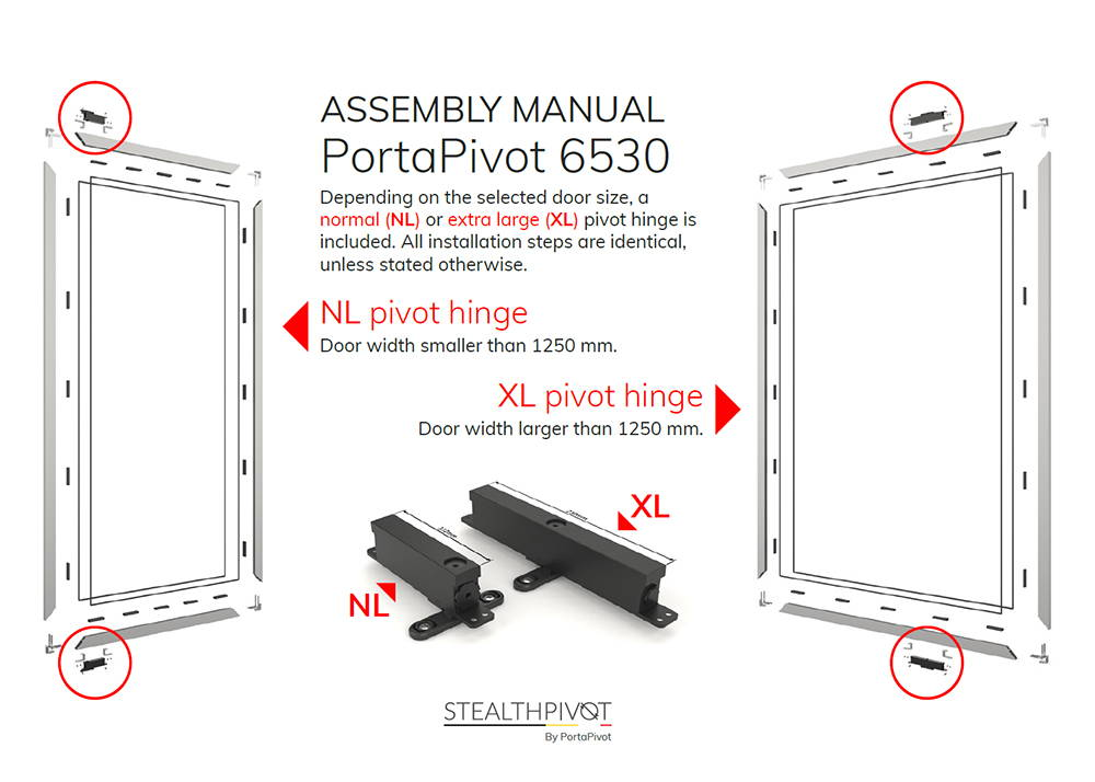 Portapivot 6530 assembly manual