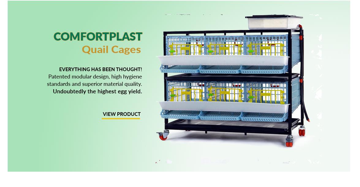 Cimuka Comfortplast Quail Cage - Hatching Time