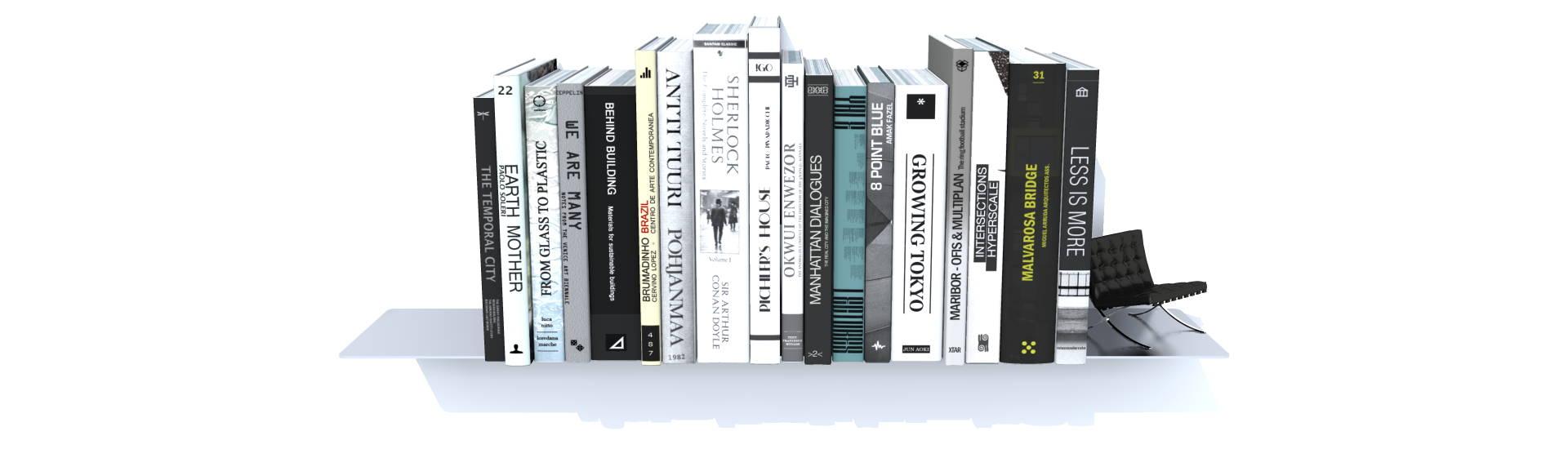 etagere inox grands livres