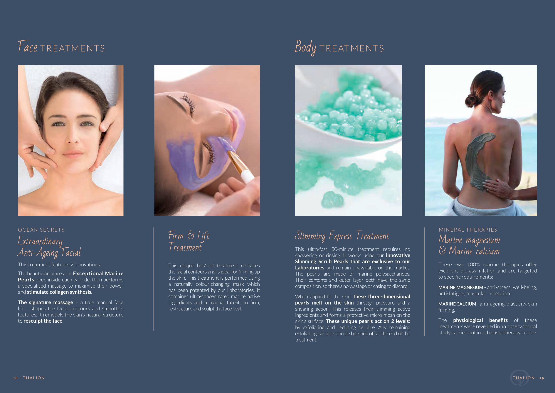 Thalion professional treatments