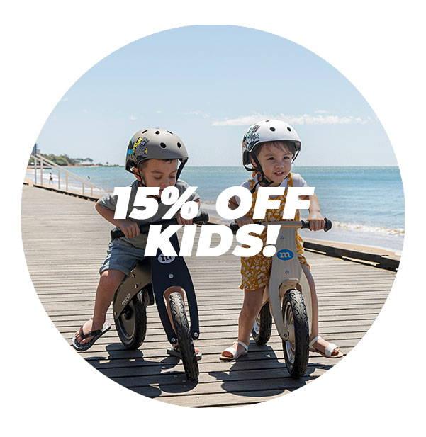 15% OFF KIDS!