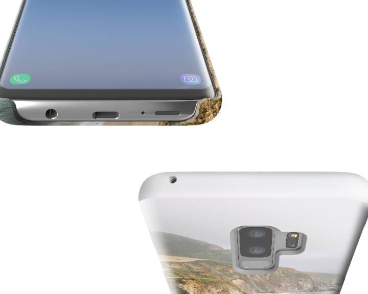 Custom Galaxy S9 Plus Case Slim Top Bottom