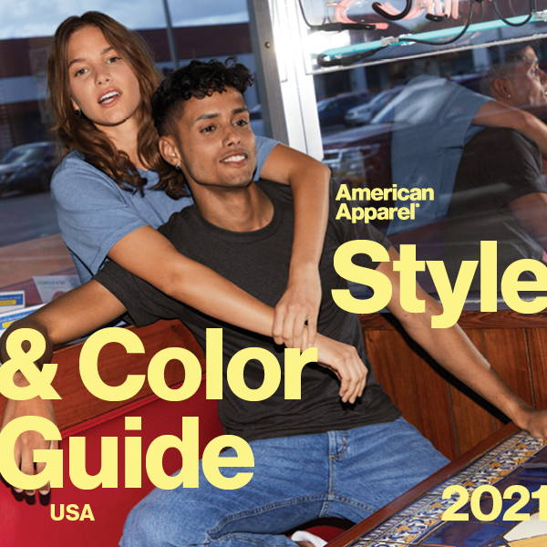 American Apparel® Style & Color Guide