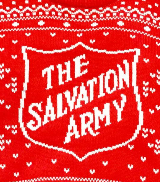 Salvation Army Christmas Sweater