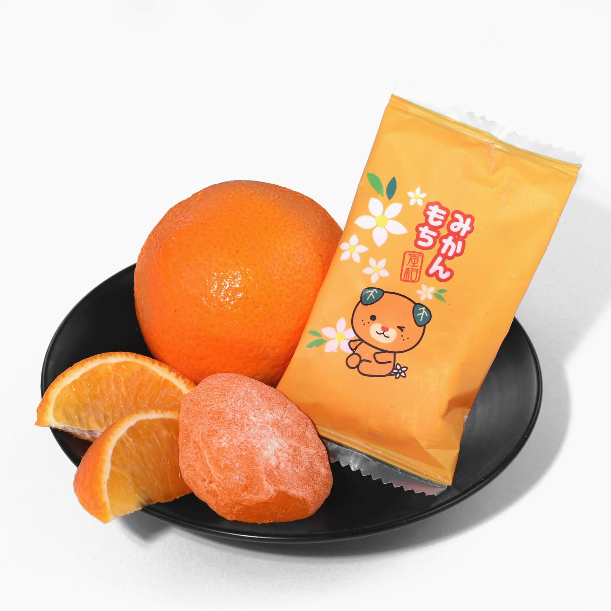Pom Ponjuice Mikan Orange Mochi