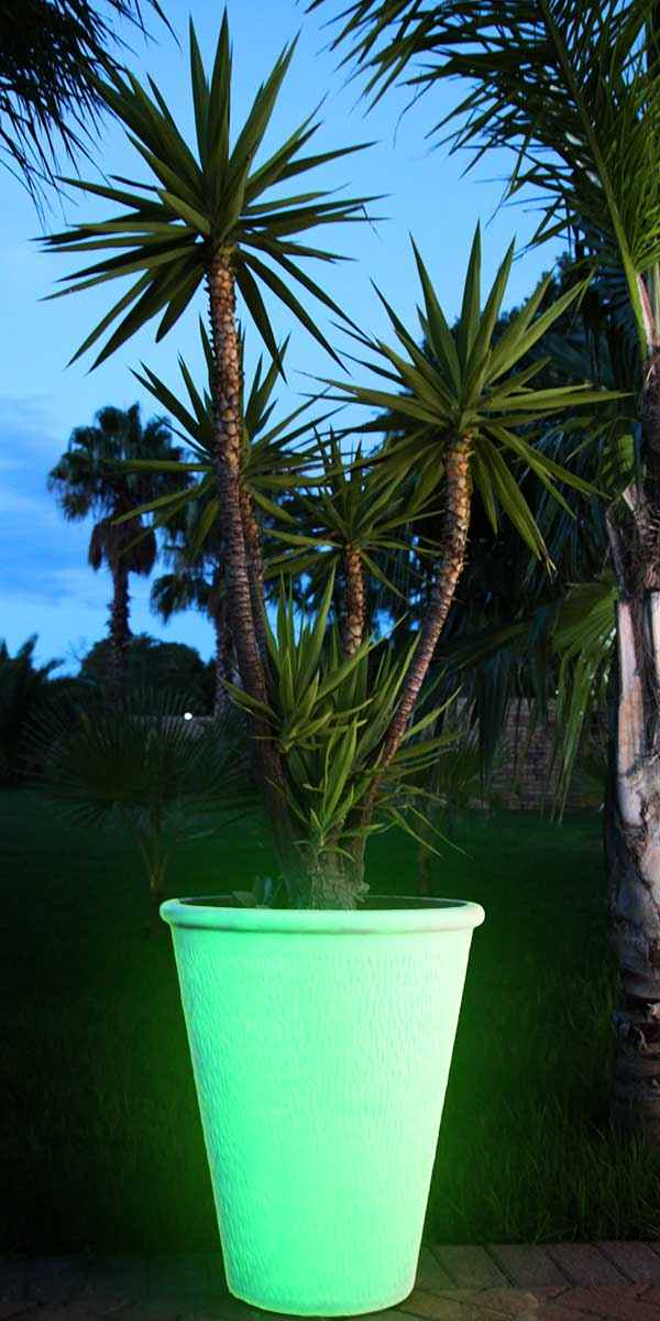 Glow in the dark flower pot & How to Make Glow in the Dark Flower Pots - TechnoGlow