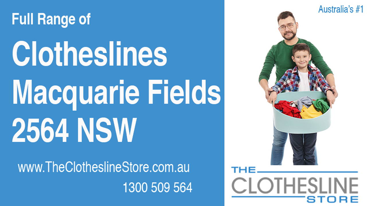 New Clotheslines in Macquarie Fields 2564 NSW