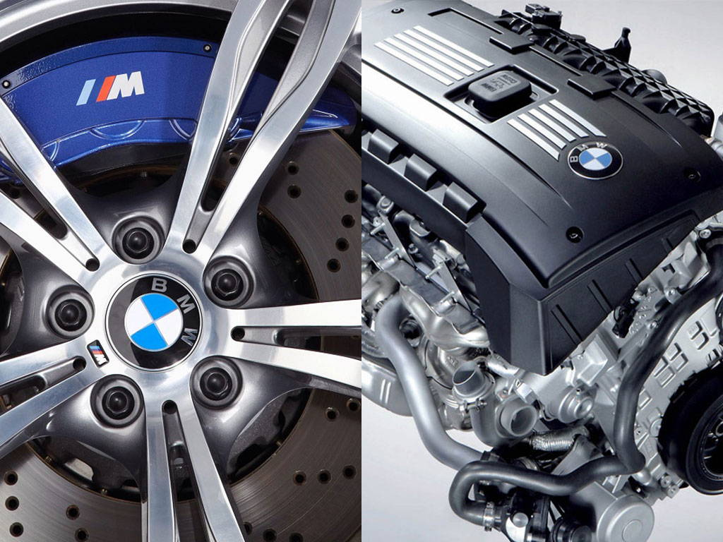 BMW Wheel & Engine
