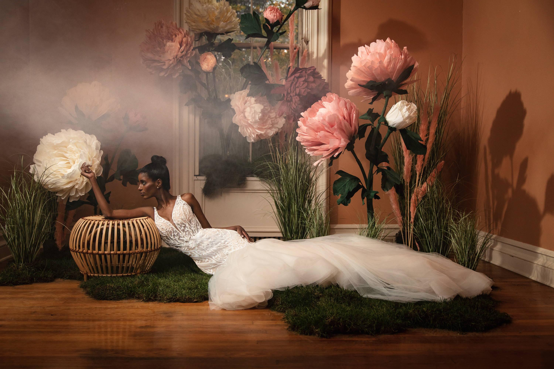 Badgley Mischka Bridal gown