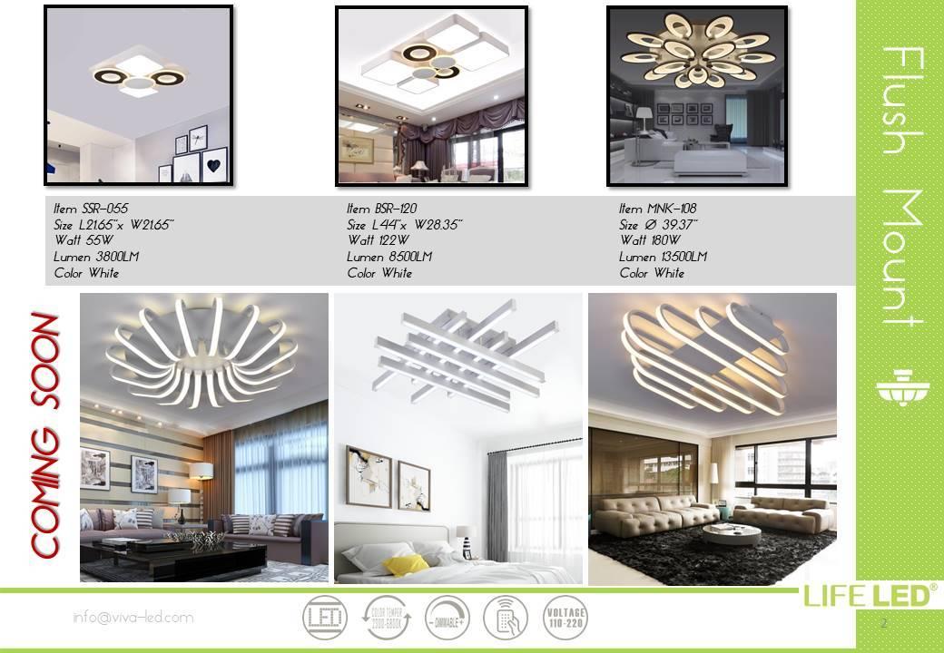 Modern LED Light For Home & House Miami Life LED