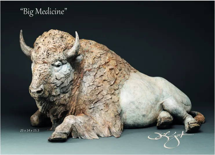 Star York. Bronze Sculpture. Wildlife Sculpture. Sorrel Sky Gallery. Santa Fe Art Gallery
