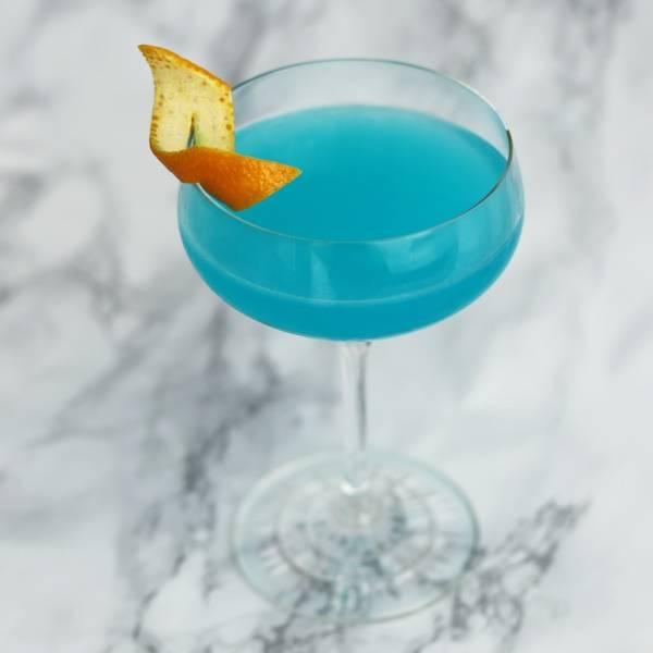 Blue Angel (Orange) Gin & Tonic