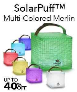 SolarPuff Multi-Colored Merlin