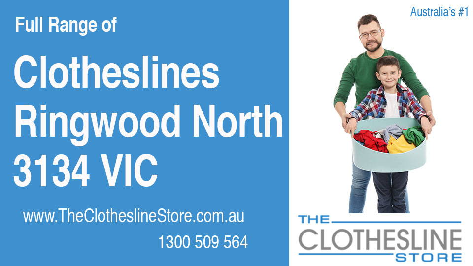 New Clotheslines in Ringwood North Victoria 3134