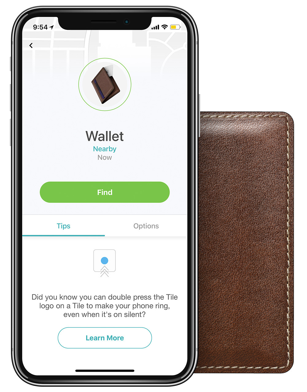 NOMAD® | Slim Wallet with Tile Tracking