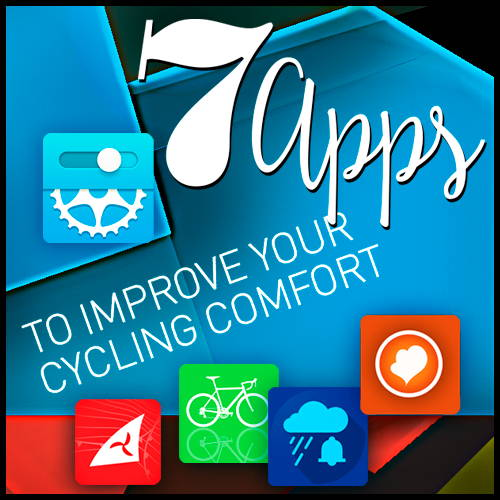 7 apps to improve your cycling comfort