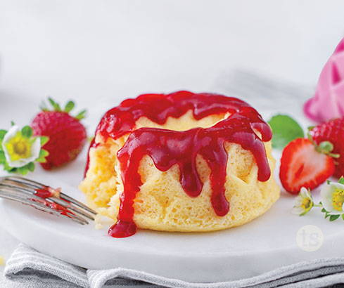 Strawberry Shortcake Prepared