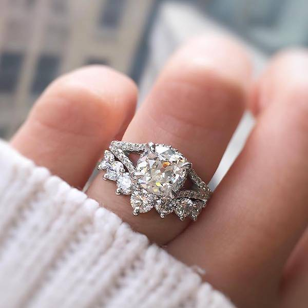 Engagement Ring Vs Wedding Ring What S The Difference Ken Dana Design