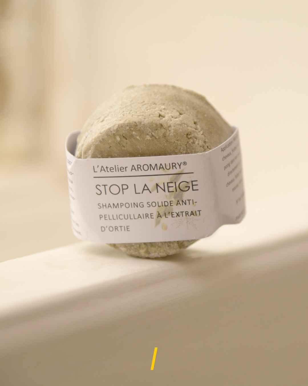 Shampoing solide antipelliculaire