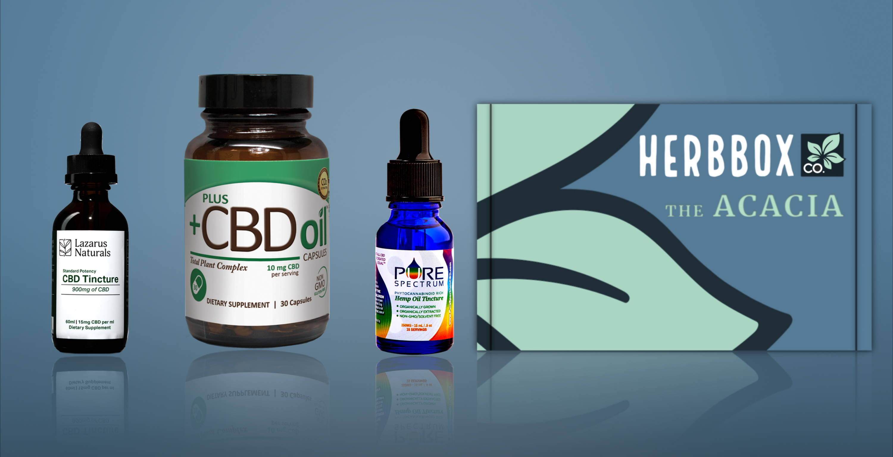 The Acacia - Your Monthly Supply of CBD Oil