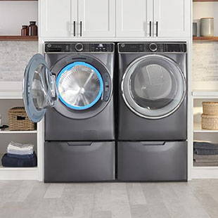 Ultrafresh Front Load Washer and Dryer