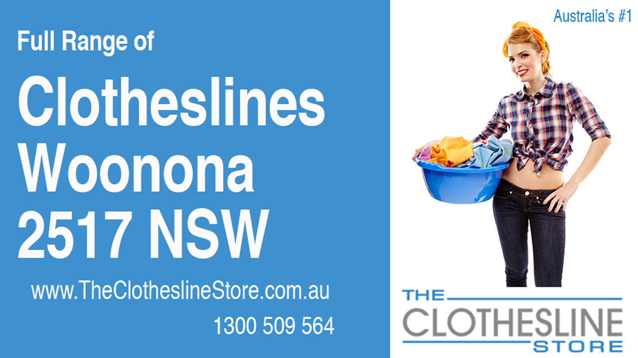 New Clotheslines in Woonona 2517 NSW