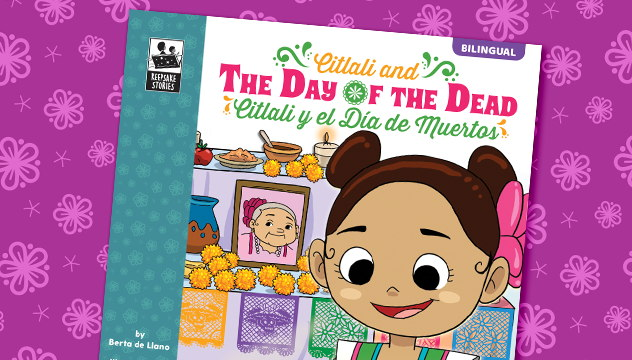 Brighter Child® Keepsake Stories Day of the Dead Bilingual Book