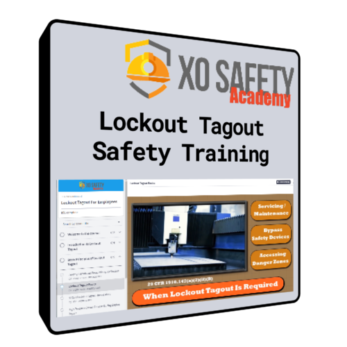 Online Lockout Tagout Safety Training