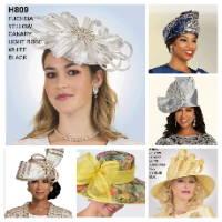 Elegance Fashions | Women Church Hats | Rhinestone Fascainators | Women Designer Hats