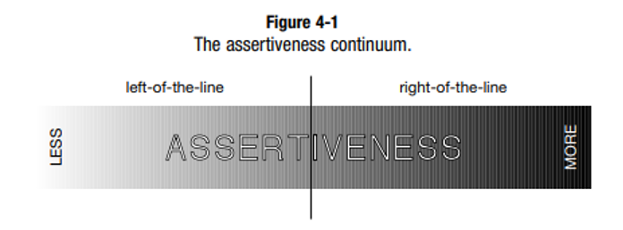 People Styles Assertieness