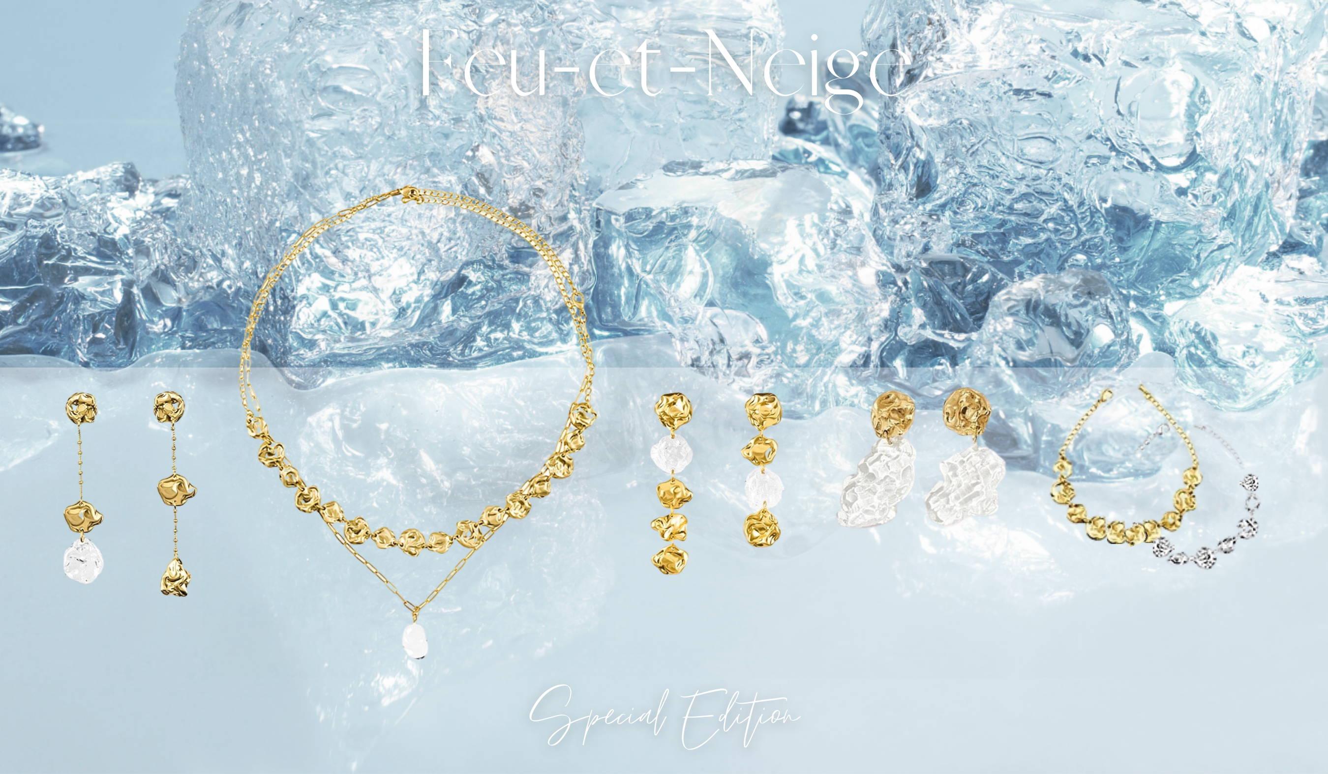 Sol-de-Miel Unique Artisan Jewelry Feu-et-Neige Collection