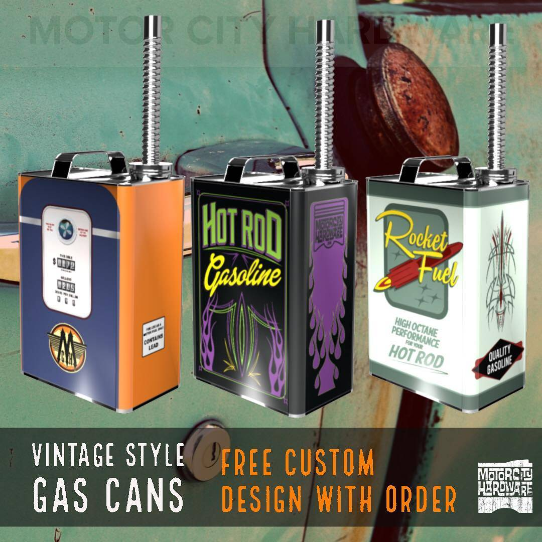 custom gas can car gift