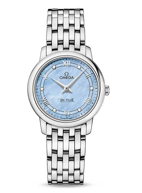 Omega De Ville Ladies Mother-of-Pearl Timepiece
