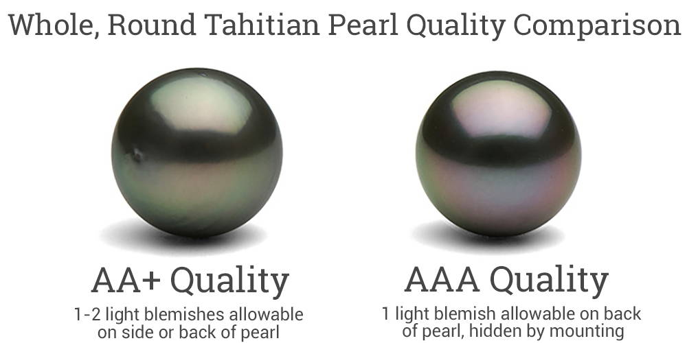 AA+ vs AAA Quality Tahitian Rounds