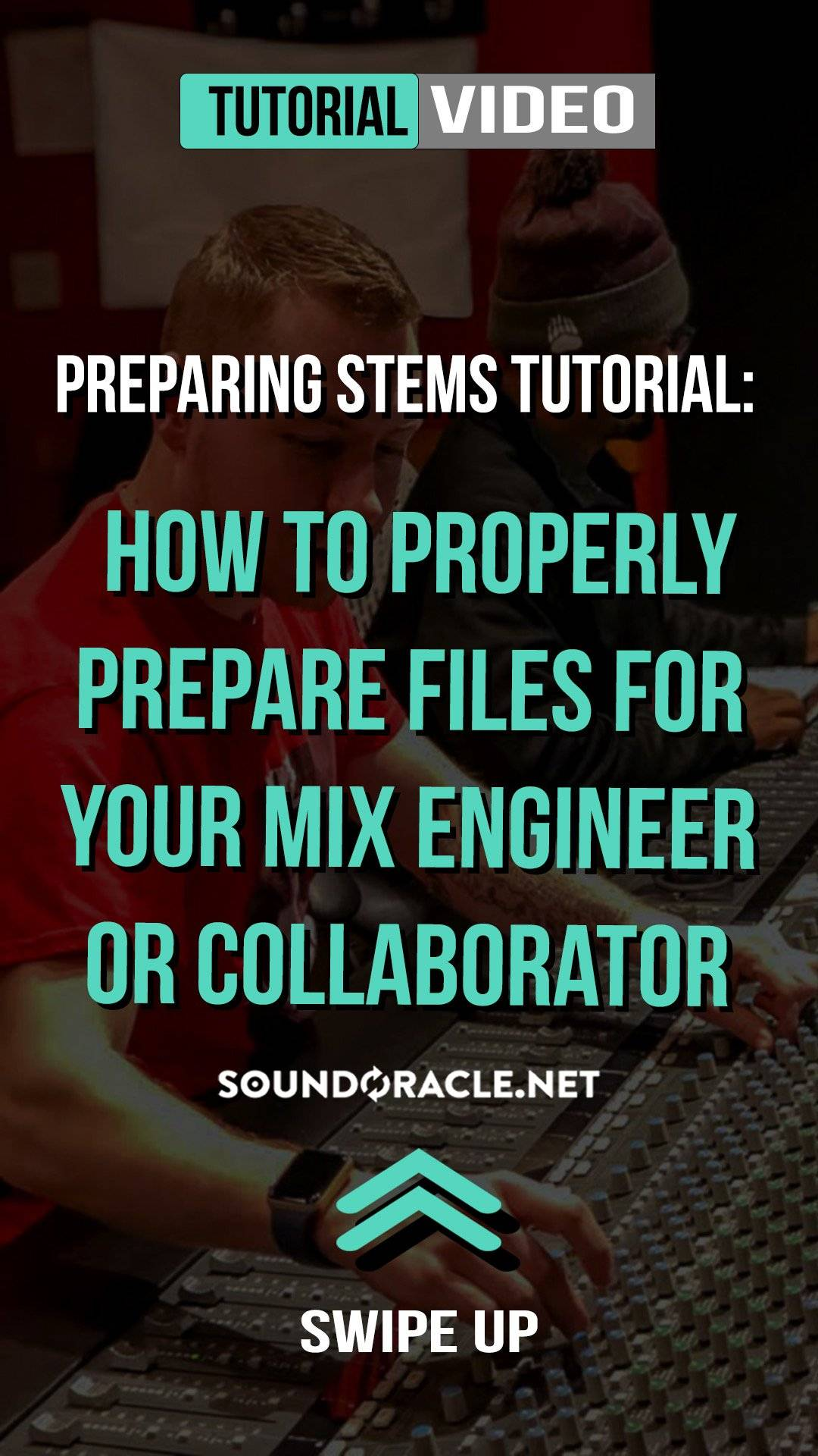 "Preparing Stems Tutorial - Follow along as professional engineer Eric Michaels (@Realistic_Pro) gives you step-by-step guide on ""How to properly prepare files for your mix engineer or collaborator."" WATCH IT HERE!"