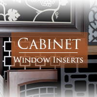 Cabinet & Window Inserts