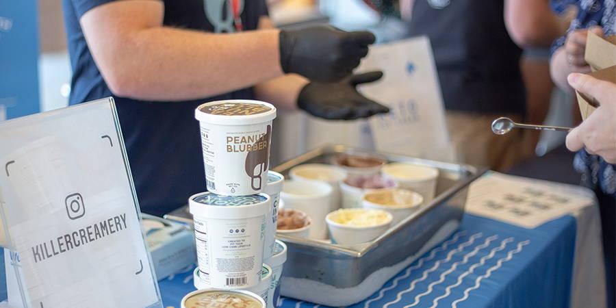 Keto Ice Cream Sampling