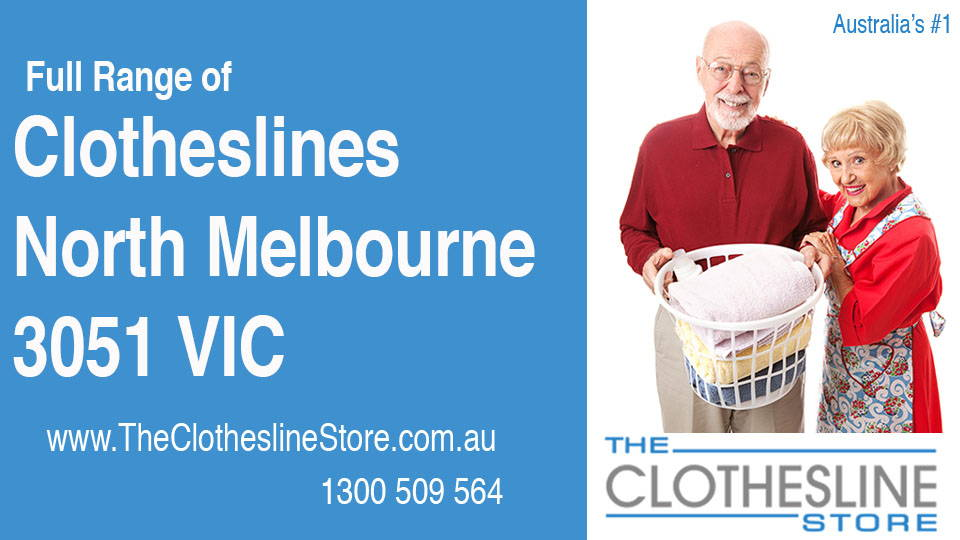 New Clotheslines in North Melbourne Victoria 3051