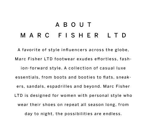About Marc Fisher LTD
