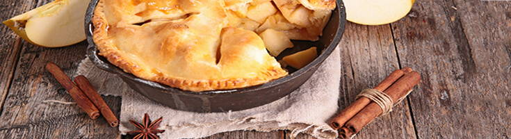 High Quality Organics Express apple pie