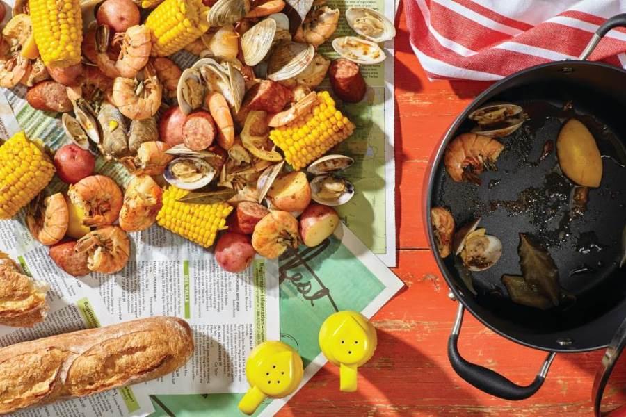 Clam & Shrimp Boil
